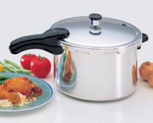 Presto 01282, 8 Qt, Aluminum, Pressure Cooker, Kitchen Appliance