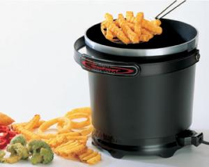 Presto 05411 GranPappy Electric Deep Fryer with Handy Scoop & Non-Stick Surface