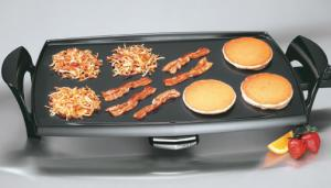 "Presto 07039 Professional 12x22""  Griddle 1500 Watts - Heavy Duty Aluminum"