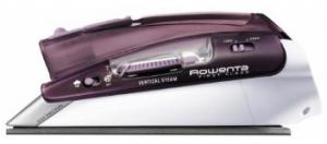 Rowenta DA1560 Dual Volt 120-240V First Class Travel Steam and Dry Iron, Folding Handle, 1.5 Pounds