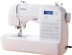 Brother, HS2000, hs2000prw, hs2500,  70 Stitch, Sewing Machine, Twin Needle, Auto Pressure Foot, LED, Start/Stop