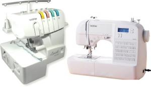 Brother HS-2000, hs2500, hs2000, hs-2500, 70 Stitch, Computer Sewing Machine, HS2000, and 1034D FS, 3&4 Thread, Freearm Serger,