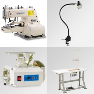 """Reliable, MSK-373N/DTACK, DRAPERY TACKER, Industrial Sewing Machine, up to 3/4"""" Pleats, 8 or 16 Tacks, Chainstitch,TAIWAN, Power Stand, SewQuiet SQ5000, DC Motor"""