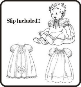 The Old Fashion Baby By Jeannie Baumeister Baby Rose Raglan Dresses Pattern