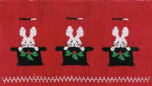 Cross-eyed Cricket  Christmas Magic #113 Smocking Plate
