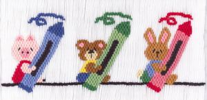 Cross-eyed Cricket CEC198 Color My World  Smocking Plate