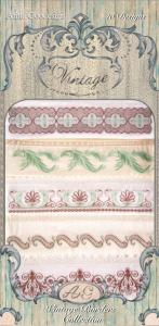 Anita Goodesign 79AGHD Vintage Borders Multi-format Embroidery Design Pack on CD