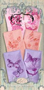 Anita Goodesign 115AGHD Butterfly Cutwork Full Collection Multi-format Embroidery Design Pack on CD