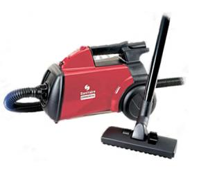 Sanitaire, SC3683A, 10 AMP, Commercial, Canister, mighty mite, Vacuum Cleaner, with Floor Brush, Dusting Brush & Crevice Tool