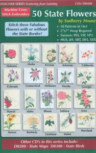 Sudberry House D8400 50 State Flowers Multi-Formatted CD