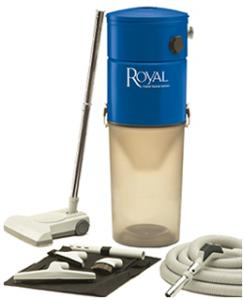 Royal CS620 Central Vac Systemnohtin