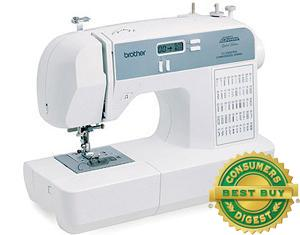 Brother, RCE-5000PRW, FS 50/87 Stitch, PROJECT RUNWAY, Limited Edition, Computer Sewing Machine, CE5000LCD, 5 x 1Step BHs, Threader, Drop In Bobbin SERVICED