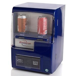 Koolatron VF02G-B Vending Fridge - Blue (110V), 8 Can Capacity