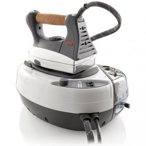 Reliable J490A IronMaven Steam Generator Iron, Electronic CSS* Removable Tank, Low Water Warning, Cork Handle, Auto Shut Off, AntiCalc Moniter - ITALY