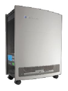 Blueair 650E Go HEPA Silent E Series Air Purifier on Casters, 698 Sq Ft Room 5x/Hour, Surround Air, Remote & On Off Timer, AutoSpeed 35-120dB 35Lb USA