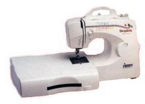 Simplicity SA-1600 40 Stitch Function, Liberty Compact 3/4 Sewing & Quilting. Machine, Drop In Bobbin & Case BRAND NEW