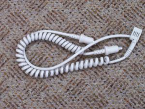 Silver, Reed, 07045230, Curl, Cord, Coil, Cable, Attaching, Electronic, Knitting, Machine, Carriage, EC1, PE1, PE10, Knit, Link, Box, Computer, Connect