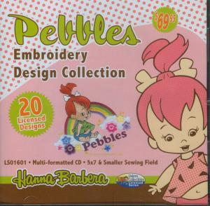 Dakota Collectibles LS01601 Pebbles Multi-Formatted CD Flintstones Betty Wilma Bam Bam Fred Barney