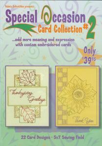 Dakota Collectibles 970378 Special Occasion Card Collection 2 Embroidery Designs Multi-Formatted CD