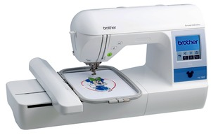 "Brother PE780D, Brother PE-780D, Disney, Embroidery Machine, 170+ Built-in Embroidery Designs, 6 Built-in Fonts, USB Port, 5""x7"" Max Embroidery Area, Brother PE780D +10Freebies $160 Values! 5x7"" Embroidery Machine, USB Stick, 170 Designs, 52 Disney, 6 Fonts, 120 Borders, Threader & Trimmers, 650SPM"