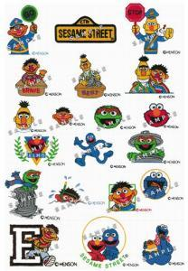 Amazing Designs BMC SS1 Bert & Ernie Collection I Brother Embroidery Cards