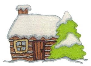 Amazing Designs ENHMC 1111 / 111 Winter Wonderland Collection Janome / Elna Embroidery Card