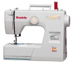 Simplicity SO7 7-Stitch DecoMate by Sunbeen, Buttonhole, Drop Feed, Pressure Adj. FREE VIDEO