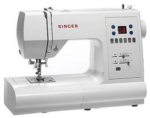 Singer, 7466, Touch, Sew, 70, Stitches, 120, Functions, FULL, SIZE, Computer, Electronic, Sewing, Machine, 3, 1, step, BH, Key, hole, BH, Drop, In, Bobbin, 25/5Yr, Warranty