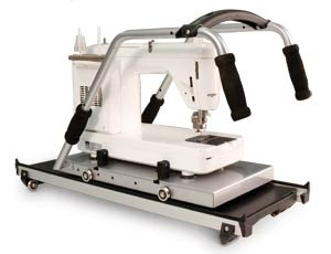 Grace Metal Carriage Platform & Handles to Upgrade Older Wood GMQ (Grace Machine Quilter) to Grace Metal GMQ PRO Quilting Frame for Longer ArmMachines