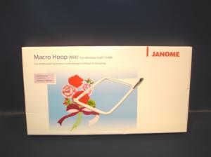 "Janome, 860403007, Macro Hoop, Frame, 11x8"" Inches, 280mm x 200mm, For Memory Craft, MC11000SE, Special Edition, MC11000, Elna 9500, 9600"