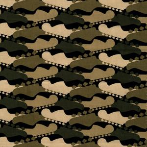 Michael  Miller Fabrics CX3842_Camo Tune Up 100% Cotton 45""