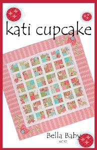 Kati Cupcake KC112 Bella Baby Quilt Pattern