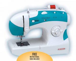 Singer 6038 Best Buy 46 Stitch Function, 1 Step Buttonhole Drop In Bobbin  Sewing Machine & Video - BRAND NEW