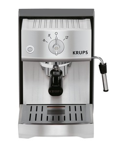 Krups, XP5240, # 1, Pump, Espresso, Coffee, latte, Machine, Ground, Pods, Easy, Cake, Eject, Perfect, Temperature, Precise, Tamping, Knob, Milk, Frother, Fast, Preheat