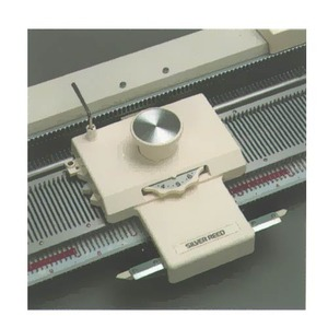 Silver Reed, AG-24, Intarsia Carriage, AG24, for Picture Knitting, w/o Loops, Standard Gauge 4.5mm Silver, Studio, Singer, & Knitmaster, Single Bed, Machines