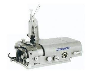 "Consew, DCS-S4, DCS-S3, Skiving, Machine, DCSS3, Up, to, 2""W, Knife, Shoe, Plate, Sharpen, Clutch, Waste, Remove, Leather, Vinyl, Shoes, Bags, Straps, Buttons, 1100RPM"