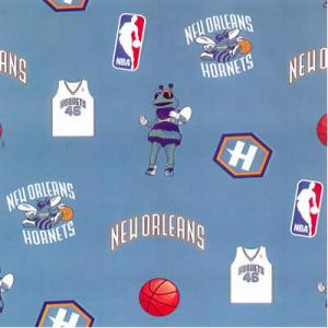 New Orleans Hornets HORN-035_Fleece Fleece 100% Polyester 60'