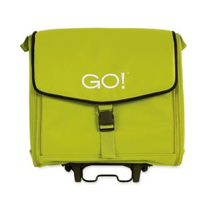 AccuQuilt Go 55114 Fabric Cutter Tote Bag GREEN 11x17x19