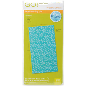 "AccuQuilt, Go!, 55005, Die, Rectangle, 3-1/2"" x 6 1/2"", cutting, accu, quilt"