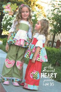 Pink Fig The Sweet Heart Pants #16 Pattern