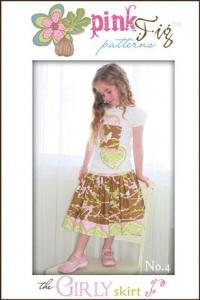 Pink Fig 936445 The Girly Skirt #4 Pattern