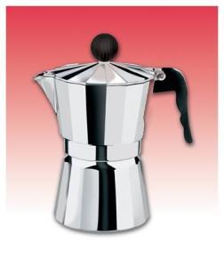 Cucina Pro 290-09 Aluminum Stovetop Espresso Maker - 9 cups