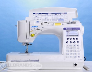 0189684000183, 012545461239, hzlf400, hzl f400, Juki HZL-F400 Exceed  Demo, 10Yr Extended Warranty* 157Stitch FullSize Computer Sewing Machine, 16x1-Step buttonholes, 3 Font, Box Feed, Knee Lever,
