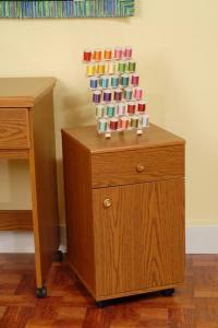 """Arrow 98800 Suzi Storage Sidekick Cabinet 16x14x25"""" in Oak"""
