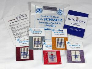 Schmetz Germany C-EMBLB 15x1 Embellishment B 17 Needles Collection: Leather, Sharp, Metallic, Twin, Hemstitch