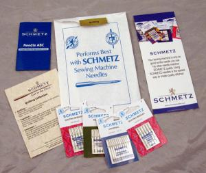 Schmetz C-QUILT 25 Needle Collection 130/705H (HAx1 15x1) for Quilting, Universal, Top Stitch