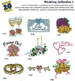 Amazing Designs / Great Notions  1202 Wedding I Multi-Formatted CD