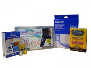 Brother, SA6000D Kit, Saecr1, SA439, 2 Spools Metallic Thread, EtkD23, Saag1, For The Quattro NV6000D