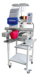 Ricoma RCM-1201PT 12 Needle Embroidery Machine, 1 Million Stitch, USB Port, 11 Hoops to 22