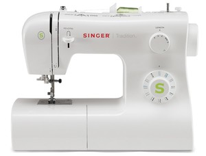 Singer, 2277, Tradition, Mechanical, Free, arm, Sewing, Machine, 23, Stitches, Adjustable, Width, Length, Button, hole, Metal, Bobbin, Case, Hook, 4, Snap, On, Feet, 110v, 220v